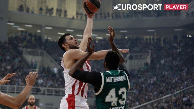 Το Eurosport Player είναι... ο παράδεισος των φίλων του μπάσκετ στο Ηνωμένο Βασίλειο