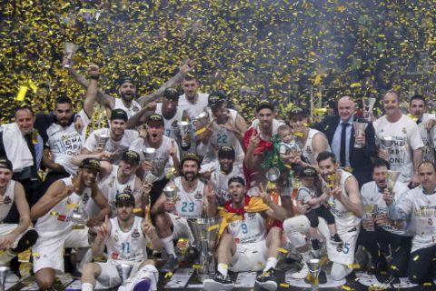 H κούπα της EuroLeague στο WiZink Center