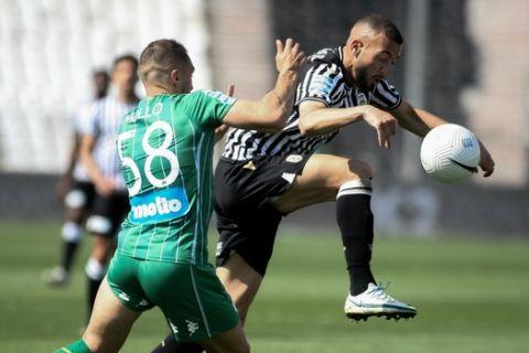 Ο Καντουρί κόντρα στον Μολό σε ματς για τα playoffs της Super League Interwetten