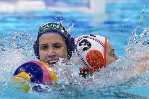 Η Ουγγαρία απέκλεισε την Ολλανδία στον προημιτελικό του ολυμπιακού τουρνουά πόλο των γυναικών