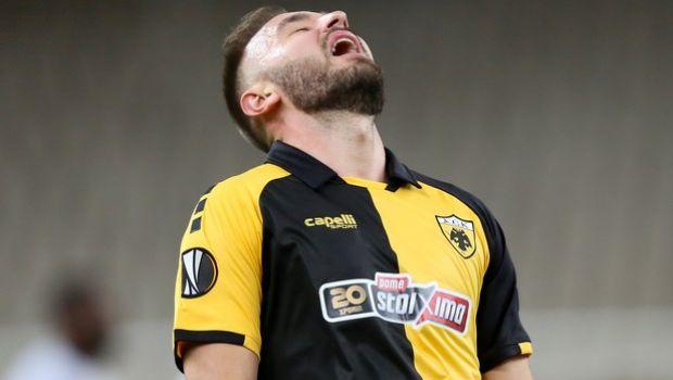 Η μεγάλη ευκαιρία του Τάνκοβιτς για το 2-2 της ΑΕΚ κόντρα στη Λέστερ