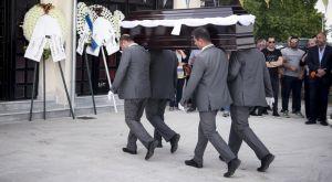 """Το """"αντίο"""" στον Γιώργο Ξενίδη"""