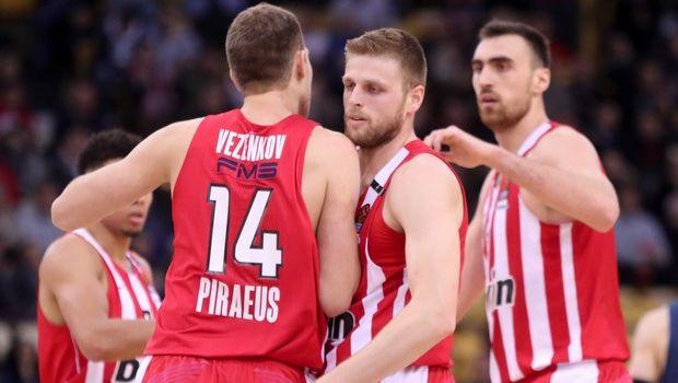 Βαθμολογία EuroLeague: Όσο κερδίζει ελπίζει για την οκτάδα ο Ολυμπιακός