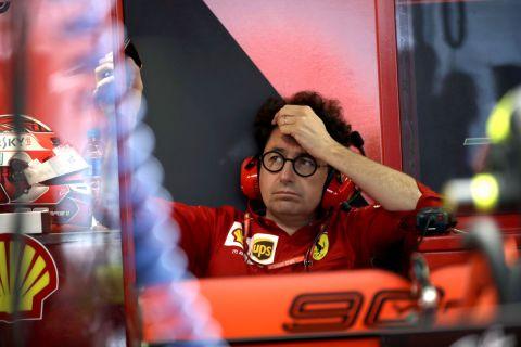 Ο πρόεδρος της Ferrari team, Ματία Μπινότο