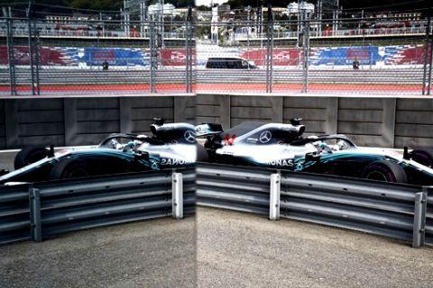 Formel 1 - Mercedes-AMG Petronas Motorsport, Großer Preis von Russland 2018. Lewis Hamilton   Formula One - Mercedes-AMG Petronas Motorsport, Russian GP 2018. Lewis Hamilton