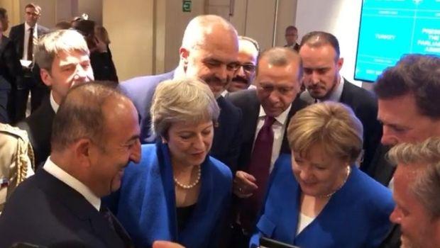 Οι ηγέτες του ΝΑΤΟ έβλεπαν τον ημιτελικό Αγγλία - Κροατία στο τάμπλετ της Μέρκελ