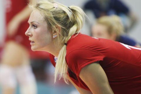CEV CHALLENGE CUP / ÔÅËÉÊÏÓ / ÏÓÖÐ - ÌÐÏÕÑÓÁ / FINAL / OLYMPIAKOS - BURSA (ÔÁÊÇÓ ÓÁÃÉÁÓ / Eurokinissi Sports)