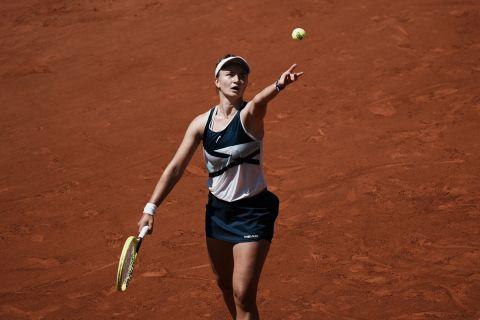 """Σάκκαρη: Με αντίπαλο την Κρεϊτσίκοβα την Πέμπτη (10/6) στις """"4"""" του Roland Garros"""
