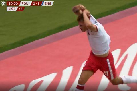 Πολωνία - Αγγλία: Ο Νταμιάν Σιμάνσκι έγραψε το τελικό 1-1 στις καθυστερήσεις
