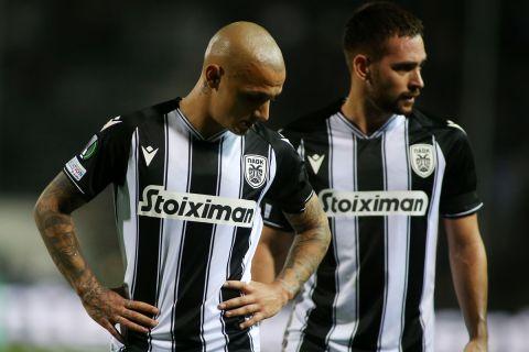 Οι Μίτριτσα και Ζίβκοβιτς απογοητευμένοι για το 1-1 με τη Σλόβαν Μπρατισλάβας