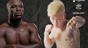 Προετοιμασία του Tenshin Nasukawa με τον Linares ενόψει Mayweather