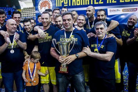 Χωρίς Καραγιάννη στη Stoiximan.gr Basket League το Περιστέρι