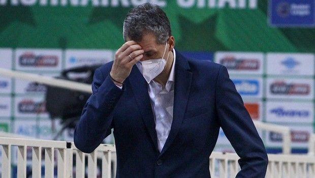 Παναθηναϊκός - Ζενίτ: Αποχώρησε ο Διαμαντίδης για τα αποδυτήρια στο 56-78