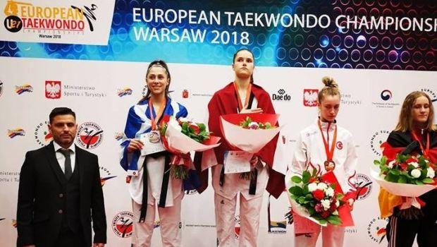 Τάε κβον ντο: Ασημένιο μετάλλιο η Γιακουμοπούλου στη Βαρσοβία
