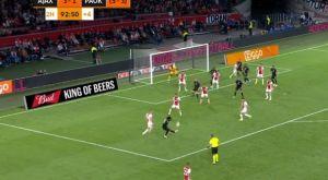 Άγιαξ – ΠΑΟΚ: Το γκολ της ελπίδας του Μπίσεσβαρ, που μείωσε σε 3-2