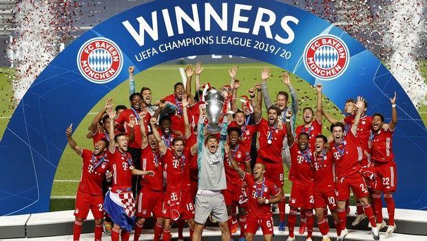 Μπάγερν Μονάχου: Ο Νόιερ σήκωσε την κούπα του Champions League