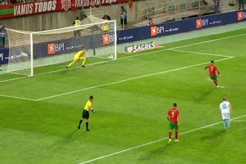 Ρονάλντο: Σκόραρε δυο φορές με πέναλτι μέσα σε πέντε λεπτά στο Πορτογαλία - Λουξεμβούργο