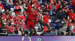 """Πορτογαλία – Ελβετία 3-1: Το """"καθάρισε"""" ο Κριστιάνο Ρονάλντο με χατ-τρικ"""