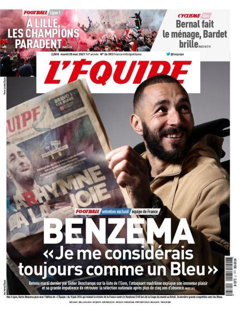 """Μπενζεμά: """"Δεν έρχομαι στην Γαλλία να πάρω τη θέση κάποιου"""""""
