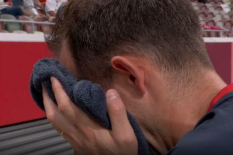 Ολυμπιακοί Αγώνες, Στίβος: Τραυματίστηκε στην προθέρμανση κι έβαλε τα κλάματα ο Ρενό Λαβιλενί