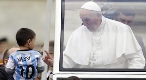 """Πάπας Φραγκίσκος: """"Ο Μέσι δεν είναι Θεός!"""""""