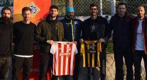 Αλμπάνης και Μπουχαλάκης μαζί πριν από το ΑΕΚ – Ολυμπιακός