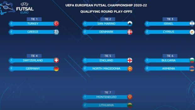 Εθνική futsal: Κόντρα στην Τουρκία στα playoffs των προκριματικών του Euro 2022