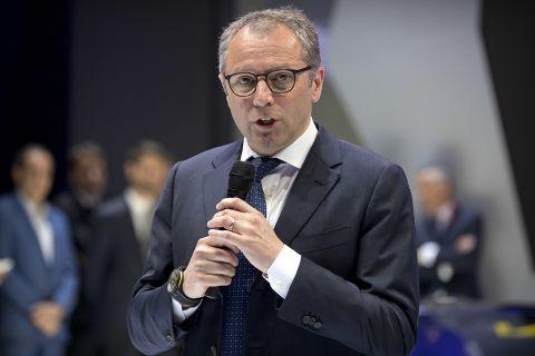 Ο πρόεδρος και διευθύνων σύμβουλος τηςFormula 1, Στέφανο Ντομενικάλι