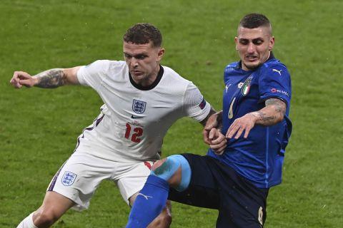 Μονομαχία Τρίπιερ - Βεράτι στον τελικό του Euro 2020 μεταξύ της Αγγλίας και της Ιταλίας