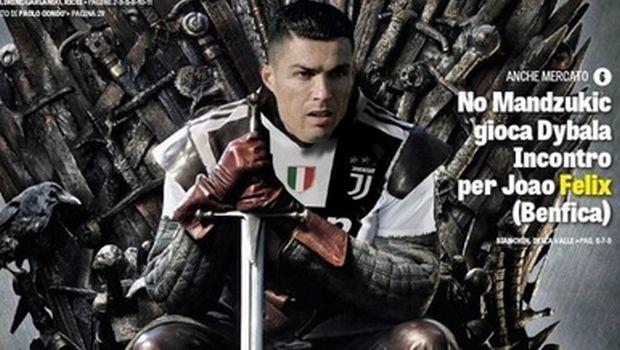 Ο Ρονάλντο έκατσε στο θρόνο του
