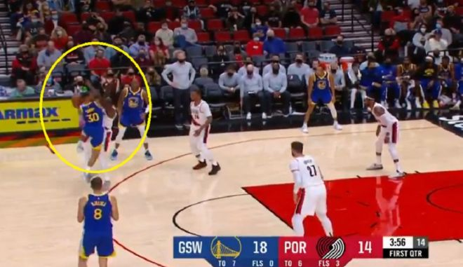 curry foul