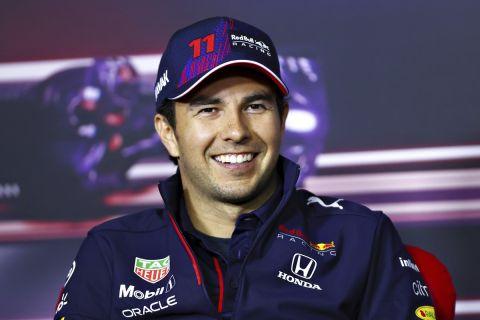 Ο Σέρτζιο Πέρεζ σε press conference της Formula 1