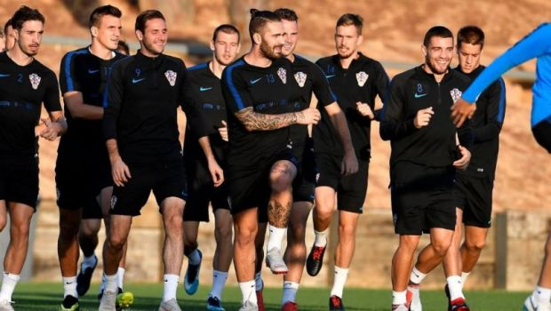 Ο Λιβάγια προπονήθηκε για πρώτη φορά με την Κροατία