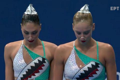 Εκτός Ολυμπιακών Αγώνων όλη η ομάδα της καλλιτεχνικής κολύμβησης