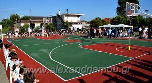 Γήπεδο μπάσκετ στη γενέτειρά του δώρισε ο Δημήτρης Ιτούδης