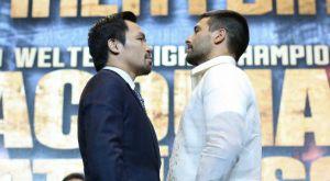 Το πρώτο Face off Pacquiao vs Matthysse για τη μεγάλη μάχη της 15ης Ιουλίου
