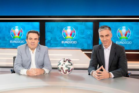 """""""Ο ΔΡΟΜΟΣ ΠΡΟΣ ΤΟ EURO 2020"""", με τους Αντώνη Καρπετόπουλο και Γιώργο Λιώρη."""