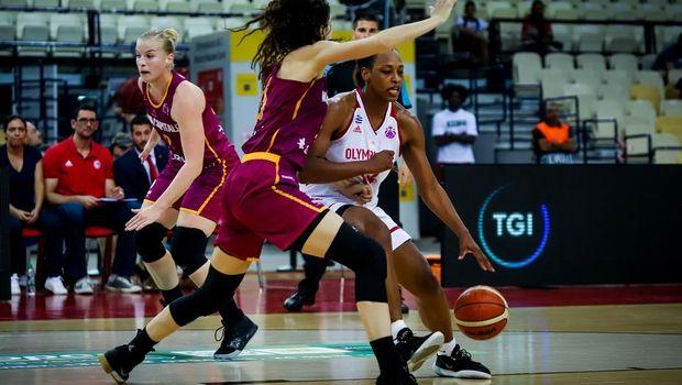 Ολυμπιακός - Ναμούρ 70-41: Εντυπωσιακή πρεμιέρα στο EuroCup Women