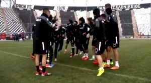 """ΠΑΟΚ: Καλωσόρισμα με """"φάπες"""" στον Μίσιτς (VIDEO)"""