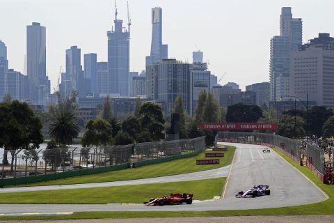 Στιγμιότυπο από το Αυστραλιανό Grand Prix