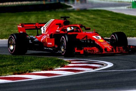 GP Καναδά: Ολική επαναφορά Φέτελ και Ferrari!