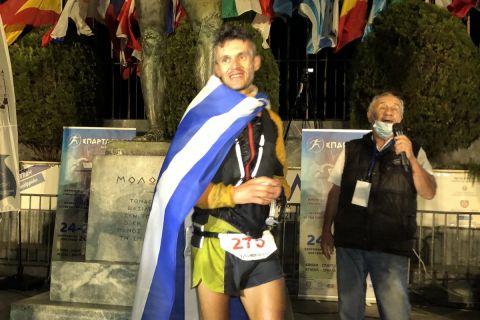 Σπάρταθλον: Νικητής ο Φώτης Ζησιμόπουλος, ισοφαρίζοντας ένα από τα ρεκόρ του Γιάννη Κούρου