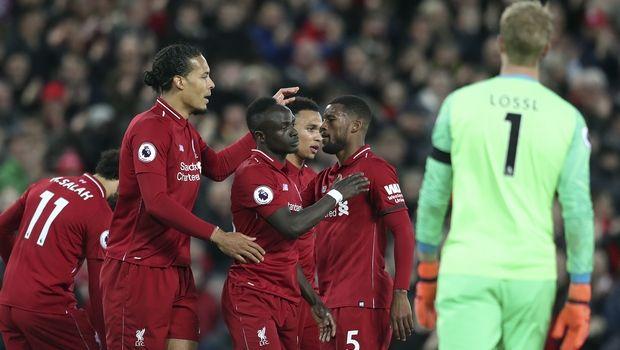 Premier League: Η βαθμολογία μετά τη νίκη της Λίβερπουλ