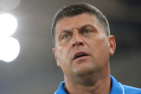 Ο προπονητής της ΑΕΚ., Βλάνταν Μιλόγεβιτς