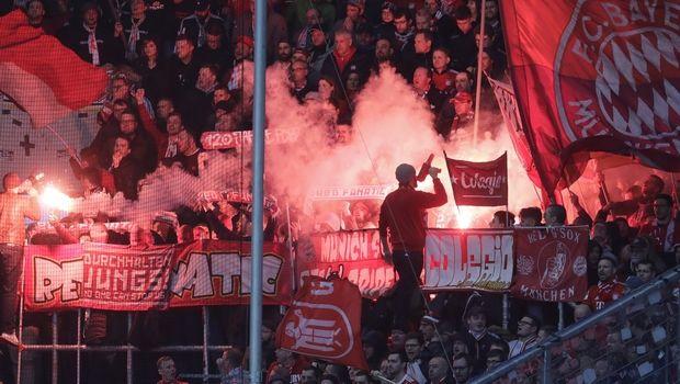 Μπάγερν: Σήκωσαν πανό κατά του ιδιοκτήτη της Χόφενχαϊμ, διακοπή στο 0-6