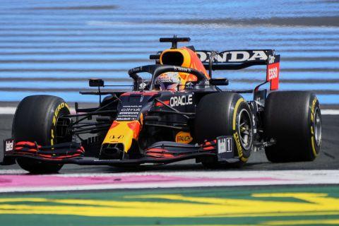 Ο Μαξ Φερστάπεν στο GP Γαλλίας της Formula 1