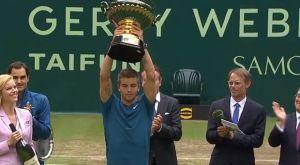 Ο Τσόριτς νίκησε τον Φέντερερ στον τελικό του Χάλε