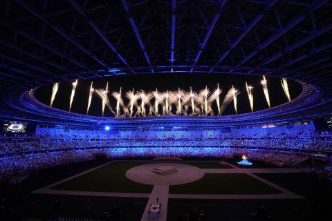 Η Τελετή Λήξης των Ολυμπιακών Αγώνων του Τόκιο