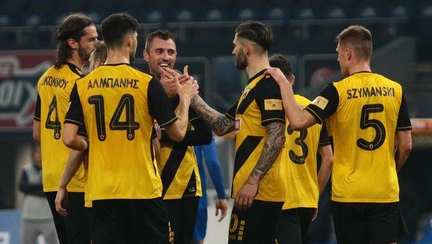 ΑΕΚ - Παναιτωλικός 4-0: Τα στιγμιότυπα του αγώνα