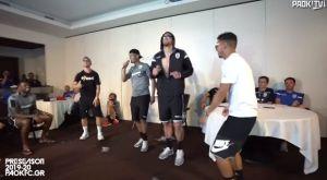ΠΑΟΚ: Τρελό γέλιο στο karaoke πάρτι